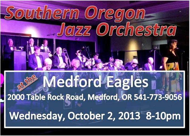 SOJO at the Medford Eagles 10-2-13