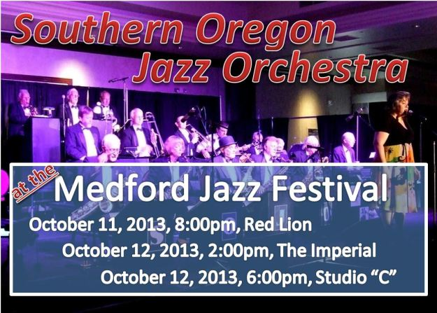 SOJO at the Medford Jazz Festival in October!