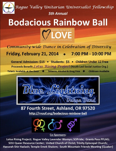 Blue Lightning plays the 5th Annual Bodacious Rainbow Ball