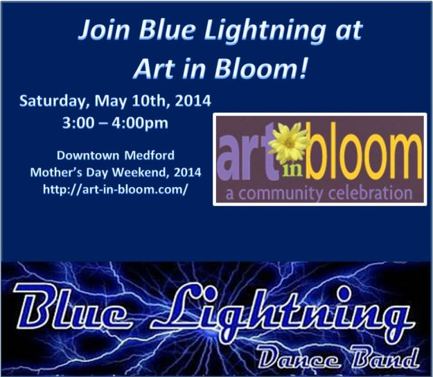 Blue Lightning at Art In Bloom 2014