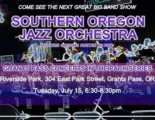 SOJO at Grants Pass Concerts in the Park 7-15-14